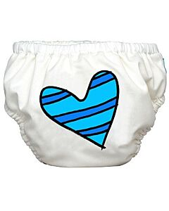 Charlie Banana: Reusable 2-in-1 Swim Diapers and Training Pants Blue Petit Couer - S - 30% OFF!!