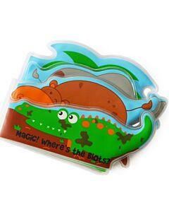 Cheekaaboo Colour Changing Bath Book - Crocodile