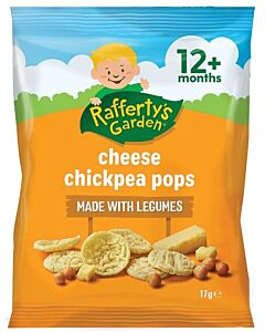 Rafferty's Garden: Cheese Chickpea Pops 17g (12+ Months) - 18% OFF!!