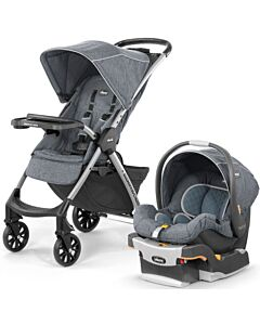 CHICCO Mini Bravo Plus Travel System (Stroller + KeyFit30 car seat with Isofix base) - [Bombay] - 40% OFF!!