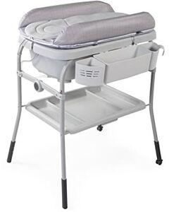 CHICCO Cuddle & Bubble Comfort Bath Set - Happy Silver - 29% OFF!