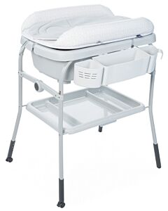 CHICCO Cuddle & Bubble Comfort Bath and Changing Table - Dots - 29% OFF!