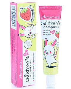 Autumnz: Children's Toothpaste with Xylitol 50g - Strawberry - 20% OFF!!