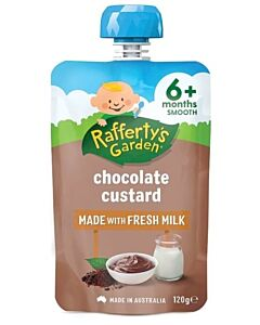 Rafferty's Garden: Chocolate Custard 120g (6+ Months) - 14% OFF!!