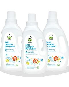 Chomel Baby Laundry Detergent (1 Litre x 3) - 30% OFF!