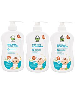 Chomel Baby Head To Toe Wash 500ml (3 pack bundle) - 20% OFF!!
