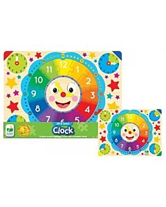 The Learning Journey Lift & Learn Clock Puzzle - 5% OFF!!