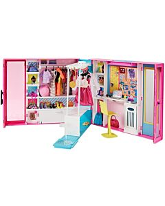 Barbie® Dream Closet   Doll and Playset with 25+ Pieces and Accessories (3Y+) - 15% OFF!!