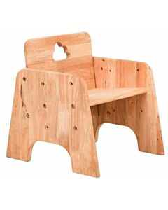 Funbies: Cloud 9 Wooden Stool Chair (Natural) - 5% OFF!!