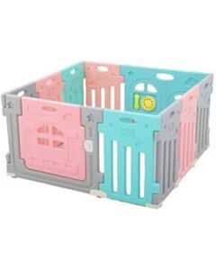 Coby Lolly Gummy Safety Play Fence - Aero [8+2] - SALE 52% OFF!!