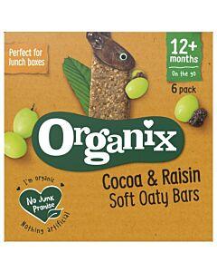 Organix Goodies Cocoa & Raisins Soft Oaty Bars 6 x 30g (12+ Months)