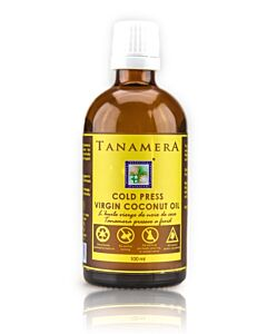 Tanamera Cold Press Virgin Coconut Oil 100ml - 20% OFF!!