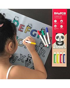 Snapkis: FunMeals Abc Colouring Mat - ABC - 25% OFF!!