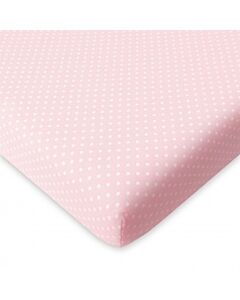 Comfy Living - Fitted Sheet (60*120*10cm) S - Pink Dot - 20% OFF!!