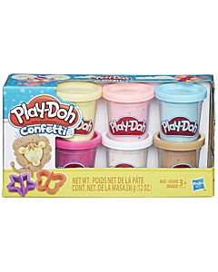 Play-Doh: Confetti Compound Collection (3+ Years Old)