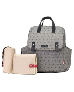 Babymel: Robyn Convertible Backpack - Printed Grey - 15% OFF!!