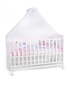 Happy Cot: Happy Wonder Plus Convertible Cot (White) with Mosquito Net (White) - 10% OFF!!