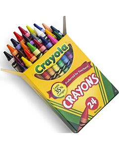 Crayola Nontoxic Crayons - 24ct - 15% OFF!!