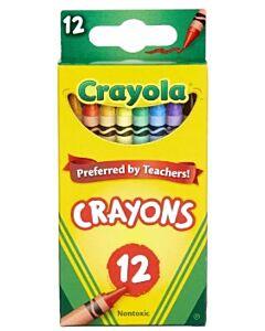 Crayola Nontoxic Crayons - 12ct - 10% OFF!!