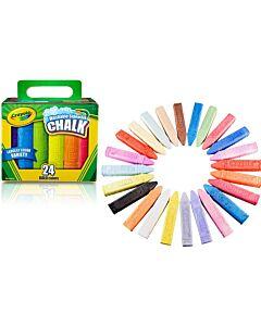 Crayola 24 Count Washable Sidewalk Chalk - 20% OFF!!