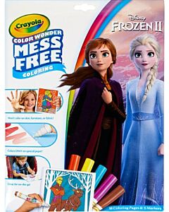 Crayola Color Wonder Mess Free Frozen 2 Coloring Pages & Markers - 20% OFF!!