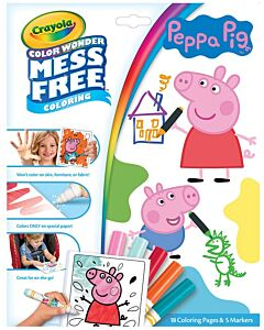 Crayola Color Wonder Mess Free Coloring Pad Peppa Pig - 20% OFF!!