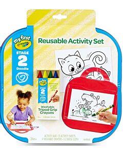 Crayola My First Crayola Reusable Activity Kit - 20% OFF!!