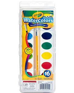 Crayola Washable Watercolors, 16 Count - 20% OFF!!