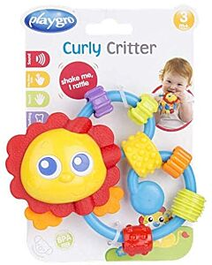 Playgro Curly Critter Lion - 15% OFF!!