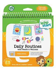 LeapFrog: LeapStart™ Preschool Activity Book: Daily Routines with Health & Wellness (aged 2-4 yrs) - 16% OFF!!