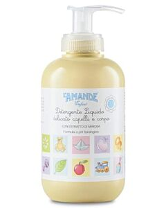 L'amande: Delicate Liquid Cleanser Enfant (for hair & body) 250ml - 10% OFF!!