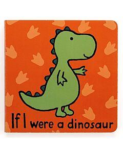 Jellycat: If I were a Dinosaur Board Book (15cm)