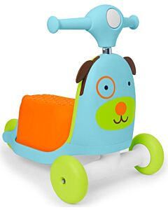 Skip Hop: Zoo 3-In-1 Ride On Toy - Dog (RM130 OFF!!)