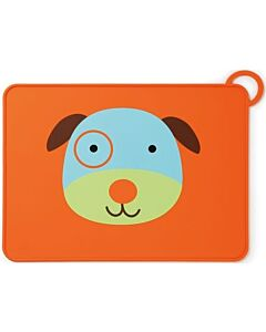 Skip Hop: Zoo Fold & Go Silicone Kids Placemat - Dog - 15% OFF!!