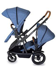 Babyhood: Doppio Inline Stroller (Double) - Marina - 10% OFF!!