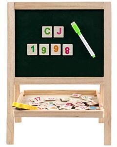 Funny Kid's: Double-Sided Small Drawing Board - 10% OFF!!