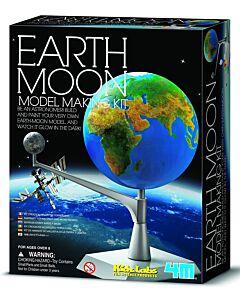 4M Kidz Labs | Earth & Moon Model Making Kit - 15% OFF!!