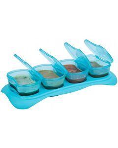 EASY Breastmilk & Baby Food Storage Cups (4oz)- Ocean Blue -10% OFF!