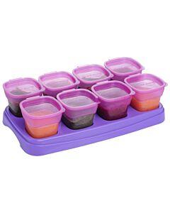 EASY Breastmilk & Baby Food Storage Cups (2oz) - Plum - 10% OFF!