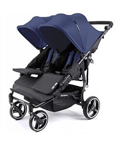 Baby Monsters Easy Twin 3.0 Stroller | Midnight - SPECIAL 61% OFF!! (Limited units left)