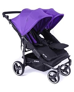 Baby Monsters Easy Twin 3.0 Stroller | Purple - SPECIAL 61% OFF!! (Limited units left)