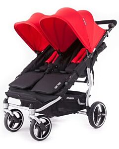 Baby Monsters Easy Twin 3.0 Stroller | Red - SPECIAL 61% OFF!! (Limited units left)