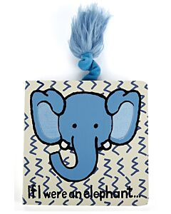 Jellycat: If I were an Elephant Book (15cm)