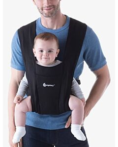 Ergobaby: Embrace Newborn Carrier - Pure Black (RM100 OFF!) - 18% OFF!!