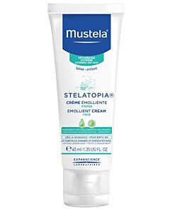 Mustela: STELATOPIA® Emollient Cream for Face 40ml (for Extremely Dry Skin)- 20% OFF!!