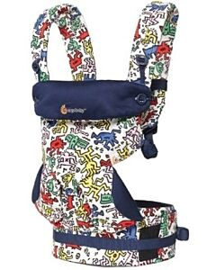 Ergobaby: Baby Carrier - Four Position 360 - Limited Edition Keith Haring - Pop - 20% OFF!