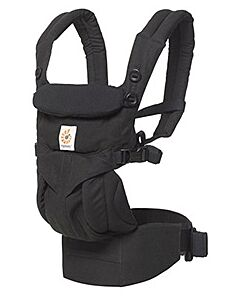 Ergobaby: OMNI 360 Four Position All-In-One Baby Carrier (Pure Black) - 15% OFF!