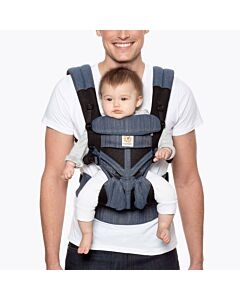 Ergobaby: Omni 360 Carrier All-in-One Cool Air Mesh - Indigo Weave  - 15% OFF!