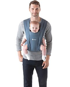 Ergobaby: Embrace Newborn Carrier - Oxford Blue (RM100 OFF!) - 18% OFF!!