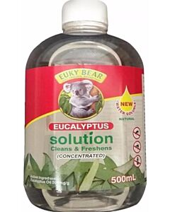 Euky Bear Eucalyptus Solution Cleans & Freshens (CONCENTRATED) 500ml - 16% OFF!!
